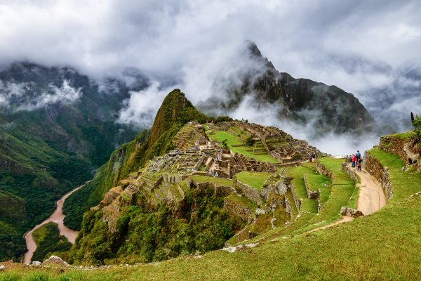 The mysterious face and symbols of Machu Picchu