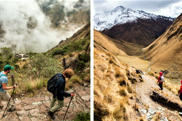 Salkantay Trek vs Classic Inca Trail