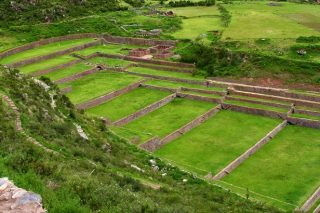 The Ruins Of Tipon In Cusco