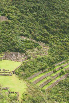 Inca Ruins Of Choquequirao