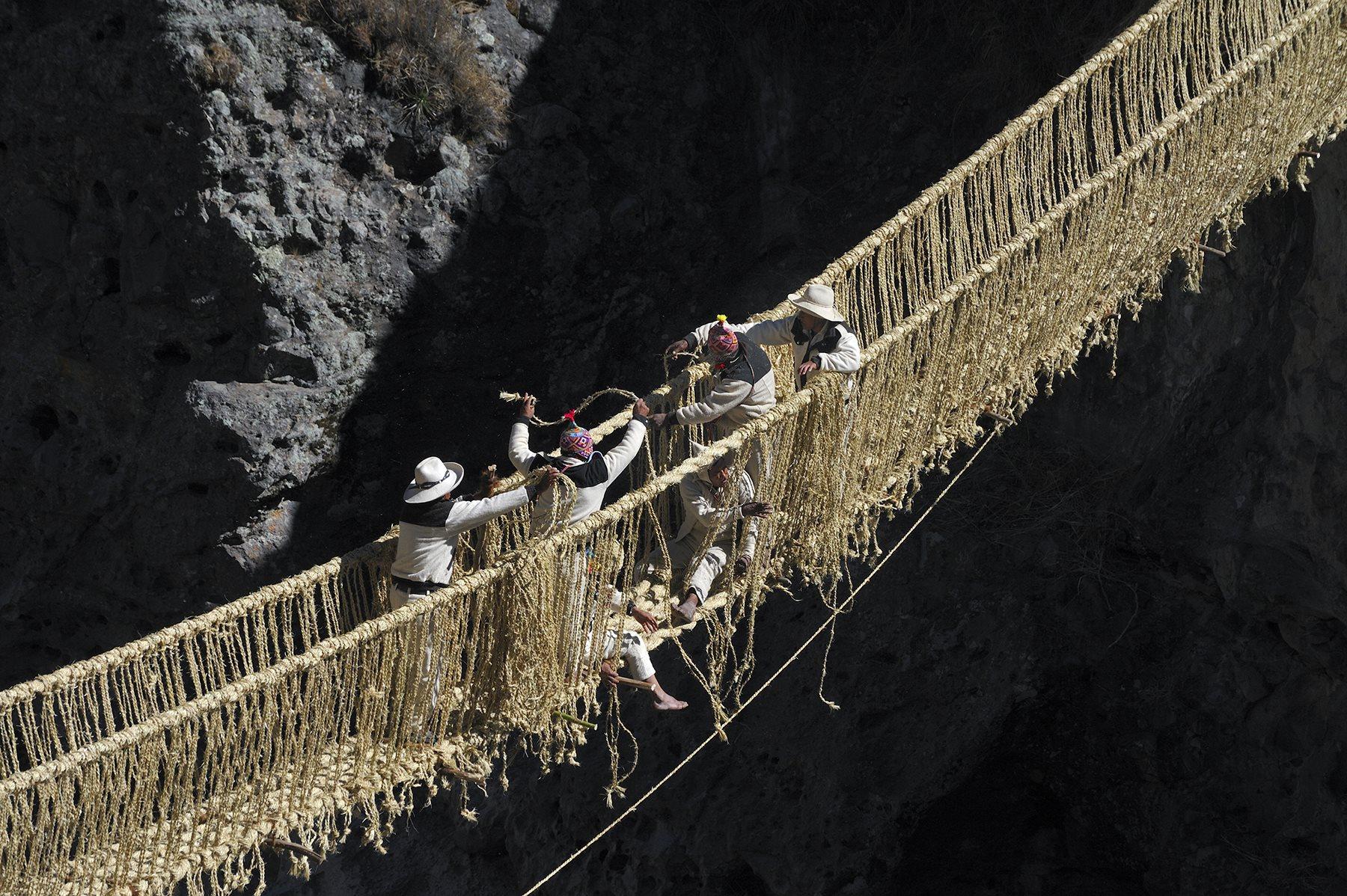 Q´eswachaka Inca Bridge